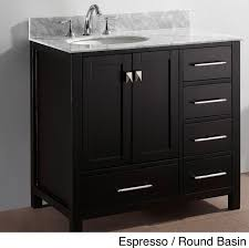36 inch bathroom vanity with sink. 36 inch black granite single sink white finish 4 piece bathroom vanity with a