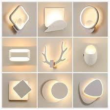modern led wall lamp 360 degrees