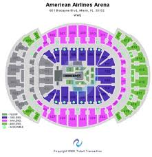 American Airlines Arena Seat Chart American Airlines Area