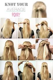 Strik In Het Haar Maken Peinados Simpele Kapsels Lang Haar Lang