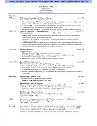 Autism Resume Examples Resume Examples Physical Therapist Sample Free Massage Therapy For 1
