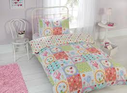 rapport kids children s bir patchwork themed duvet cover bedding set multi