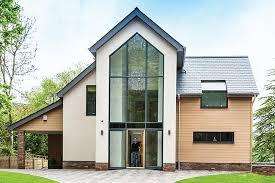 minimalist modern eco home plans self build
