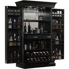 home bar furniture. ashley heights black stain home bar wine cabinet furniture l