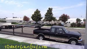 WTF Overloaded Hauler 3 Car Trailer 5th Wheel Crazy Under Powered ...