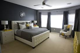 Bedroom furniture in black Contemporary The Spruce Mix Patterns In Black Bedroom
