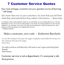 customer service sayings quotes images 7 customer service quotes collected by intelligentdomestications com