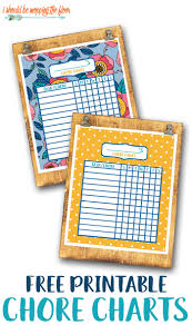 Somewhat Simple Chore Chart Free Printable Chore Chart For Kids I Should Be Mopping