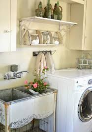 Beautiful Rustic Laundry Room Decorations