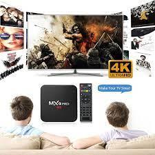 TV Box MXQ 4K Pro 2G+16G Chip tốt S905W Tích hợp FPT Play - Biến TV thường  thành Smart TV