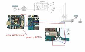 schematic 6300 the wiring diagram 6300 mic microphone ways problem mobile repairing schematic
