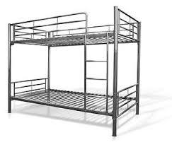 Black metal bunk bed Heavy Duty Metal Metal Bunk Bed Frames Ebay Metal Bunk Beds Ebay