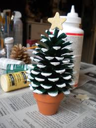Pine Cone Christmas Decorations Pine Cone Christmas Tree Best Diy Tricks