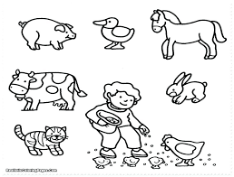 Zoo Animals For Coloring Printable Animal Sheets Best Pages Home