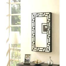 wall mount jewelery wall mount jewelry mirror stylish mirrored mounted for modern bedroom decoration without wall