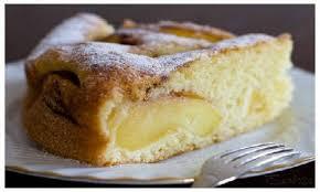 Risultati immagini per torta di mele spolverata di cannella e zucchero