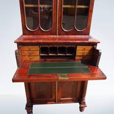 small antique boocase small proportioned regency period gany library bookcase