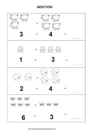Kids : Kindergarten Math Worksheets Worksheet For Best Images ...