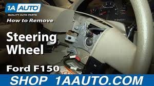 how to replace steering wheel 04 08 ford f150 how to replace steering wheel 04 08 ford f150