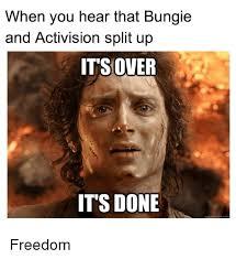 Image result for bungie activision split