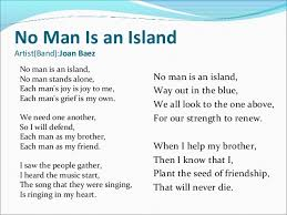 tips for an application essay no man is an island essay cannon and bard further proposed that the thalamus which is a no man is an island essay psychology relay station for plan for history coursework the senses