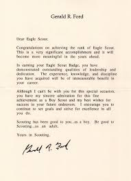 Eagle Scout Letter Of Recommendation Gorgeous How To Request Congratulatory Letters For Your Eagle Scout Bryan