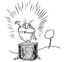 Free Printable Lorax Coloring Pages For Kids Coloring Home