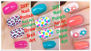 DIY Nail Polish Art Designs | Gel Nails Art Ideas | Acrylic Nails ...