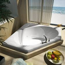 extra deep whirlpool bathtub. air jet vs. water jet. while both types of whirlpool tubs extra deep bathtub