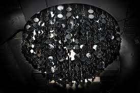 george singer modern chandeliers and lighting installations black oyster chandelier photo 2 georgesinger co uk