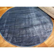 10mm thick modern brightly coloured plain design blue floor area rugs