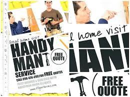 Handyman Flyer Template Mesmerizing Free Handyman Flyer Template Best Template Ideas