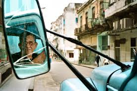 Cuban Delivery Truck Driver Leica M6 Nokton 40mm Portra 400 Analog
