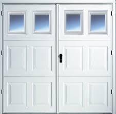 side hinged garage doorsSide Hinged Garage Doors With Windows  Geekgorgeouscom