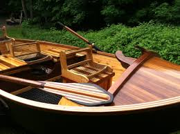 each of phil croff s boats is hand build to customer specifications shown is the tradtional
