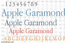 Download Garamond Apple Garamond Font Download Fonts4free