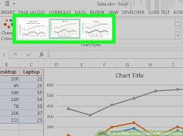 How To Line Chart Excel 2 Easy Ways To Make A Line Graph In Microsoft Excel