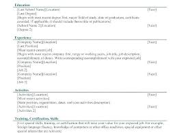 4 Different Types Of Resumes Types Of Resume Types Resumes Formats