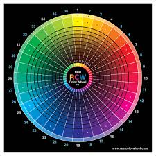Advanced Color Wheel In 2019 Color Blending Color Theory