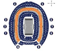 Detailed First Energy Stadium Seating Chart Mile High