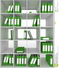 cupboard office. Office Cupboard With Different Folders Stock Illustration - Of File, Bookcases: 34479740 V