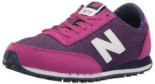new balance pink sneakers. amazon.com | new balance women\u0027s 410 optic pop fashion sneakers pink