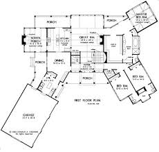 79 best floor plans images on pinterest architecture, floor House Plans With Porches Ireland the blue ridge house plans first floor plan house plans by designs direct Small House Plans with Porches