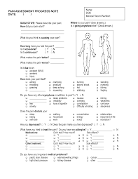Ot Soap Note Example Acupuncture Soap Notes Examples