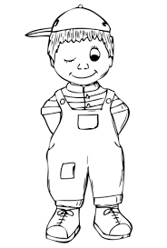 Small Picture Boy coloring page Free Printable Coloring Pages