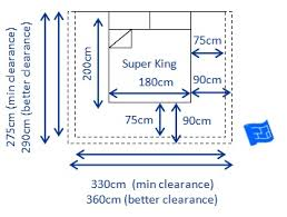 UK Super King Bed Size and Space