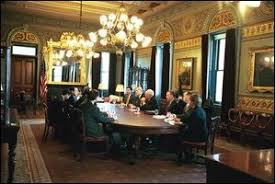 us president office. Photo Of Vice President Cheney Attending A Meeting In The President\u0027s Ceremonial Office. Us Office