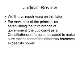 separation of powers essay