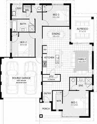 large size of simple 3 bedroom house plans without garage you bright with floor 3d one