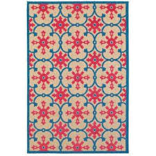 lilo red blue 10 ft x 13 ft outdoor area rug